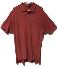 Polo By Ralph Lauren Black Label 100% Cotton XXL Red