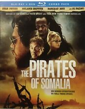 THE PIRATES OF SOMALIA(BLU-RAY+DVD COMBO PACK)W/SLIP COVER BRAND NEW