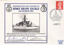 7RNCC3 HMS Iron Duke Signed His Grace Duke of Wellington