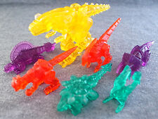 Bandai Power Rangers Dino Thunder Set 7 Color Zord Mini Gashapon Figure Limited