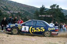 Colin McRae SUBARU IMPREZA 555 PORTUGAL RALLY 1994 Fotografia