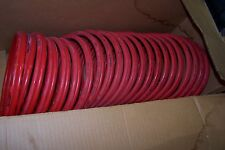 NEW NYCOIL HOIST TWIN COILED AIR LINE 75 Ft 3/8 Npt Male Swivel Both Ends 22650