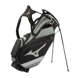 MIZUNO Tour 6-Way Stand Bag Staff/ Black Grey