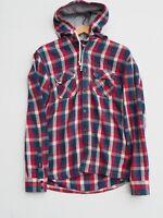 Fantastic NEXT Men's Lumberjack Style Hooded Shirt / Jacket size M Slimmer Fit
