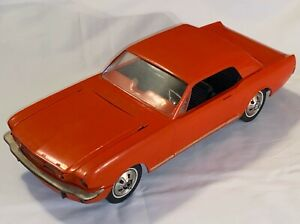 Vintage AMF Wen Mac 1966 Ford Mustang GT 1:12 Scale Battery Op Model Promo Toy