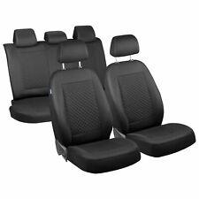 CAR SEAT COVERS FOR HONDA CIVIC FULL SET DEEP BLACK