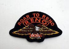 ROAR TO RENO PATCH RENO 2008 PIN UP HAT PATCH CUSTOM