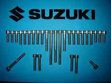 Suzuki GSF600 600 Bandit 95-02 Stainless SS A2 Engine Allen Screw Bolt Set Kit