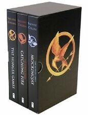 The Hunger Games Trilogy Boxed Set: Hunger Games; Catching Fire; Mockingjay NEW!