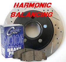 IS GS 300 400 Performance Rotors Cermaic Pads Harmonic Balancing Design F+R Set