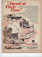 "1971 Cyclone Performance Headers Print Ad """