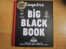 Esquire Big Black Book Magazine 2013 U.K 01 Vincent Cassel,Ralph Lauren, New.