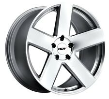 20x10 TSW Bristol 5x114.3 Rims +25 Silver Wheels (Set of 4)