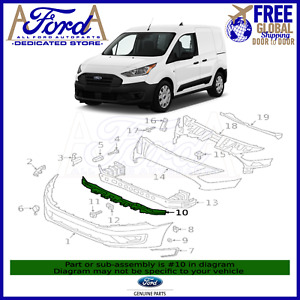 Ford Transit Connect 2019-2021 Front Bumper Plastic Support Genuine KT1B-17D926
