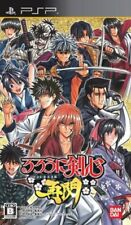 Game: PSP Rurouni Kenshin Meiji Kenkaku Romantan Saisen [Jap From japan