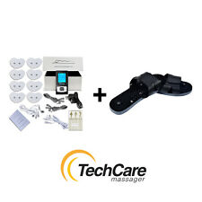 SE Tens Massager Unit Set 4in1 Cable Dual Use Shoes Pain Sciatica Relief Therapy