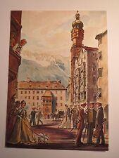 Innsbruck - AV Austria - Karte / Studentika