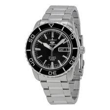 Seiko 5 Black Dial Automatic Mens Watch SNZH55