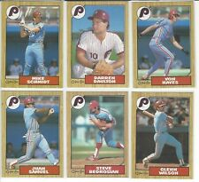 1987 O-Pee-Chee Philadelphia Phillies Team Set