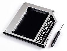 Opticaddy Sata-3 Hdd/ssd Caddy Façade pour Dell Latitude E6510