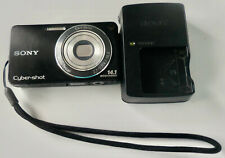 SONY CYBER-SHOT DSC-W350/W360 Black Digital Camera Battery, Cable USB, Manual