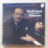 B503 CLAUDIO ARRAU SCHUMANN PIANO WORKS 9 x LP PHILIPS STEREO