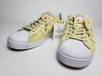 NEW Adidas Superstar Shoes Vulc ADV Skate Rainbow Suede Shell CG4838 mens sz 6