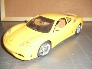 BURAGO MODEL,FERRARI 360 MODENA 1/18 SCALE,MADE IN ITALY,1999