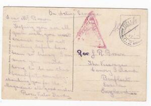 WW1 British Field Post Office CZ Imperial Camel Corps Beersheba Palestine 1917