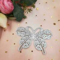 Butterfly Metal Cutting Dies Embossing Mold Scrapbook Tool Decorate Album C J8A0