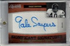 Gale sayers auto #'d 1/37 autograph Nr.Mt-Mint Ebay 1/1 Timeless Treasures Bears