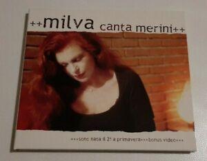 MILVA  CANTA MERINI     CD