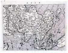 Antique map, Asia