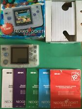 SNK Neo Geo Pocket Color Handheld Console - Clear