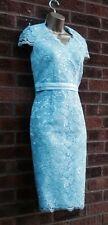 Jacques Vert Light Blue Corded Lace Dress  sizes 8  - 24
