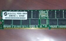2GB DDR PC3200R DDR-400  128X4 36CHIPS 184PIN DIMM SERVER RAM ECC REG