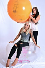 """Riesen- Luftballons 100cm+ Ø """"BOUNCE 2 POP"""" - Looner - Riesen- Ballon LOONER"""