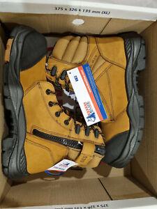 Steel Blue Torquay Wheat Leather Mens Shoes Boots. Australian Seller