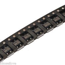 100Pcs MB10S 1000V 0.5A Bridge Rectifier SMD