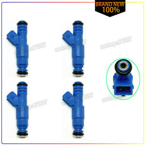 Ford Focus Escape Escort Contour 2.0 Set of 4 OEM Bosch 0280155887 Fuel Injector