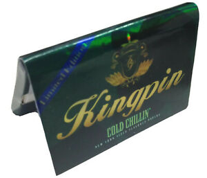 6 KINGPIN COLD CHILLIN LIMITED EDITION MINT FLAVORED ROLLING PAPERS NEW YORK