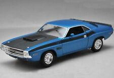 Welly 1/24 ,Dodge Challenger T/A - Blue, Classic Metal Model Car