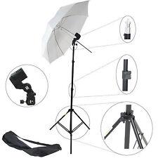 Kit d'éclairage Studio Photo Trépied Douille Parapluie Sac pour Flash Barebulb