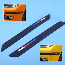 2 Stück schwarz Silikon Stoßstange Kantenschutz Protector-Streifen