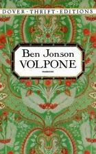 Volpone (Dover Thrift Editions), Jonson, Ben, New Book