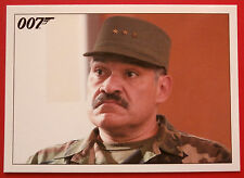 JAMES BOND - Quantum of Solace - Card #072 - General Medrano Asks For His Money