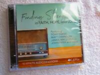 FACTORY SEALED CD Finding Strength in Faith, Hope, and Love LifeWay Devotions