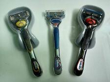 3 x GILLETTE FUSION PROGLIDE RAZORS FOR MEN with FLEXBALL TECHNOLOGY *NEW*