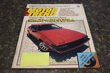 MOTOR TREND SPACE-AGE SUPRA OCTOBER 1981 VOL.33 #10 9248-1 [LOC.ELK] #531