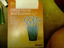 Microsoft Office 2010 Home and Business Word Excel PowerPoint Outlook DVD NEW